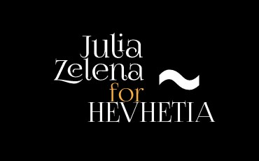 JULIA ZELENÁ FOR HEVHETIA